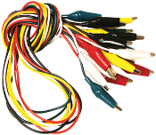 Alligator Lead Set with Large Alligator Clips TL-6LG