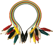 Alligator Lead Set with Small Alligator Clips TL-6