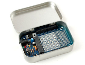 Adafruit MENTA - Mint Tin Arduino Compatible Kit with Mint Tin -