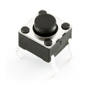 Mini Push Button Switch, Momentary SPST