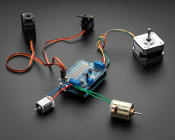 full-featured motor shield servo-motor