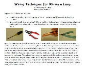 Lamp Kit Instructions